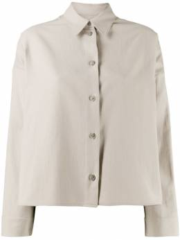 Mm6 Maison Margiela - cropped button-down shirt DL6005S5909095363333