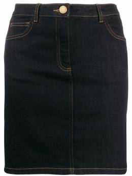 Boutique Moschino - fitted denim skirt 96580095569530000000
