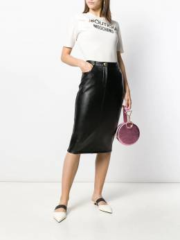 Boutique Moschino - slim-fit pencil skirt 69583695569506000000