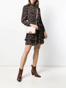 Dorothee Schumacher - long sleeve floral print dress 36095390050000000000