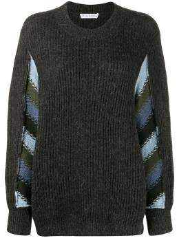 JW Anderson - horizontal striped knitted sweater 6899D593956953333630