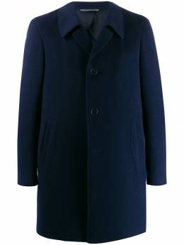 Canali - oversized collar single-breasted coat 00503605683995333559