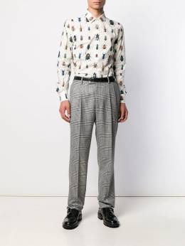Alexander McQueen - insects print shirt 595QNO63953358550000