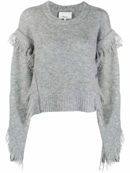 3.1 Phillip Lim - fringed sleeve jumper 93363LAL953853580000
