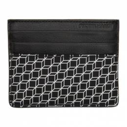 Pierre Hardy Black and White Cube Card Holder 192377M16300301GB