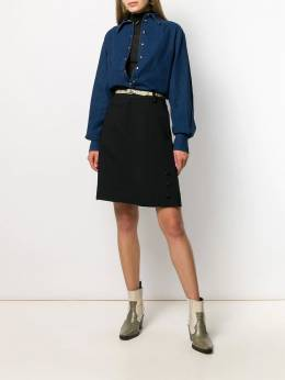 See By Chloé - high waisted tailored skirt 99WJU656369556056500