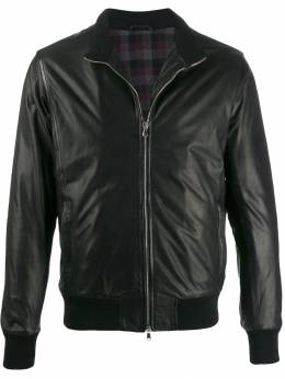 Barba - textured fitted jacket TUSCANYBL95369503000