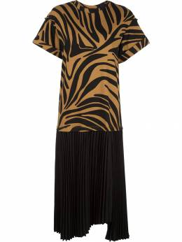 3.1 Phillip Lim - zebra print T-shirt dress 99855ZPJ953990660000