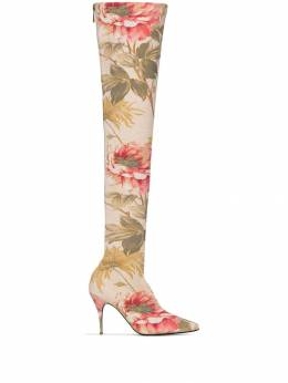Zimmermann - multicoloured 100 floral over-the-knee boots 0F999596395500000000