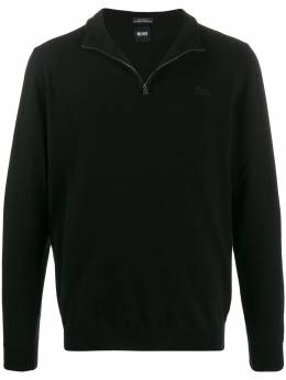 Boss Hugo Boss - half zip knit sweatshirt 95365953533650000000