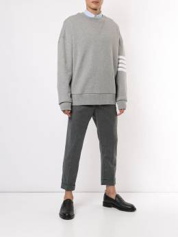 Thom Browne - 4-Bar oversized sweatshirt 985A6653595935860000