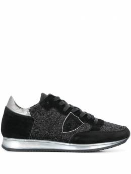 Philippe Model - glitter embellished low top sneakers DGG65953903330000000