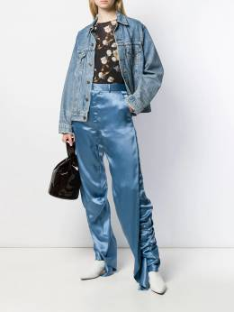 Y/Project - gathered trousers NT56S939539596900000