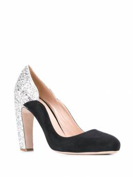 Miu Miu - glitter-effect panel pumps 83CM9663AH3955009960