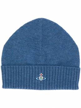 Vivienne Westwood - embroidered logo beanie TC6666S9683695563939
