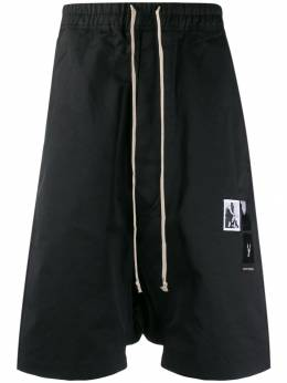 Rick Owens DRKSHDW - dropped crotch track trousers 9F6386MUEH3955686350