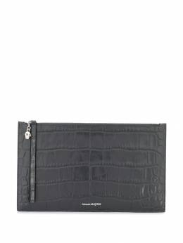 Alexander McQueen - embossed clutch bag 9969JM6I955638680000