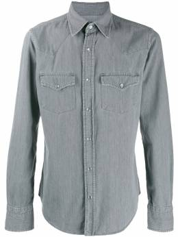 Tom Ford - western denim shirt EKI6FT59695596536000