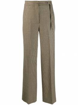 Incotex - houndstooth wide leg trousers 333D9003953893550000