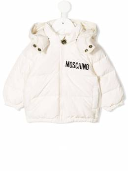Moschino Kids - hooded puffer coat 69IL3A96955939660000