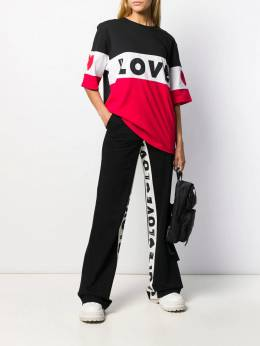 Love Moschino - flared track pants 9669T985995356369000