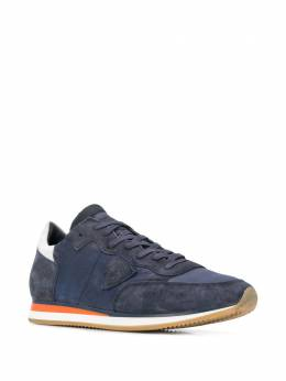 Philippe Model - striped sole low top sneakers UWZ65955656550000000