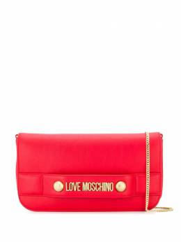 Love Moschino - logo-embellished clutch 006PP68KD69556860900