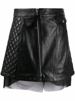 Diesel Black Gold - quilted leather skirt 9DEBGRCE955969360000