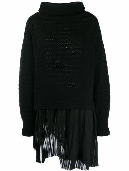 Diesel Black Gold - layered knitted jumper 999BGSDE955969080000