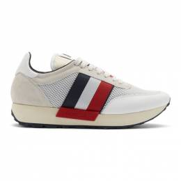 Moncler White Horace Sneakers 192111M23700501GB