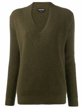 Tom Ford - ribbed v-neck jumper 906YAX00595595333000