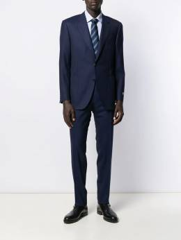 Canali - slim tailored trousers 06996666698953885500