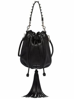 Miu Miu - embellished drawstring shoulder bag 953VONE0D3U953805380