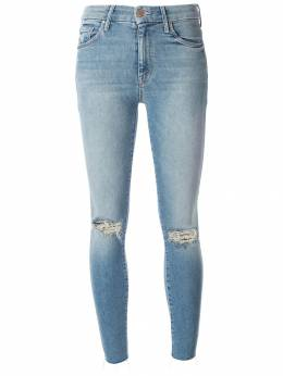 Mother - distressed skinny jeans 95369539955300000000