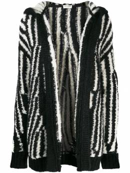 Saint Laurent - oversized knitted cardigan 636YAIZ0955959980000