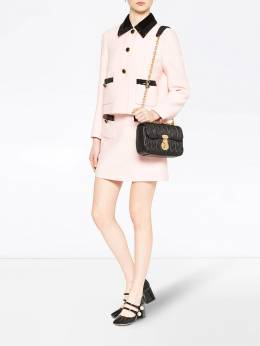 Miu Miu - Cady sequin trim jacket 5969N5P9538003300000