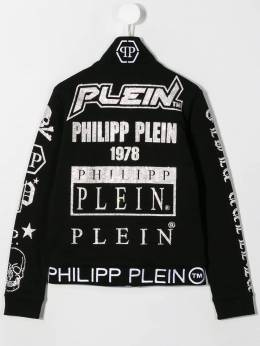 Philipp Plein Junior - куртка с логотипом CBJB6053PJO660N95006