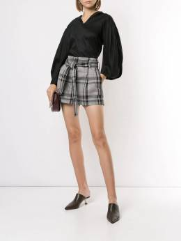 3.1 Phillip Lim - plaid high-waisted shorts 95593WBS950936030000