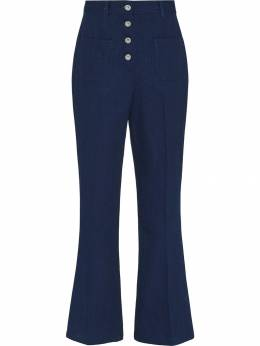 Miu Miu - high-rise flared jeans 3659UK99538003900000