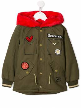 Little Marc Jacobs - embroidered patch jacket 96695388683000000000