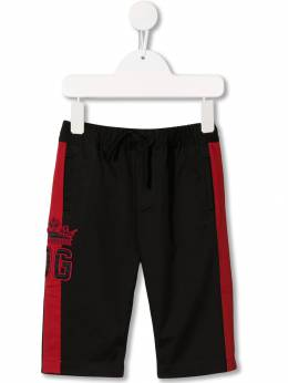 Dolce & Gabbana Kids - logo embroidered track pants P69G3SRY955093650000