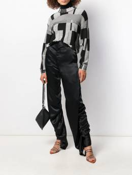 Y/Project - ruffle trim trousers NT56S939538553900000