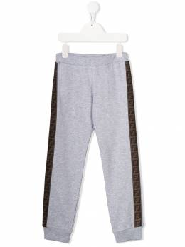 Fendi Kids - logo track trousers 9595V695388989000000