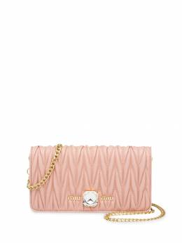 Miu Miu - Matelassé crystal mini-bag 6550D3Y9538058300000