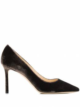 Jimmy Choo - Romy 85 velvet pumps Y85LZV95353553000000
