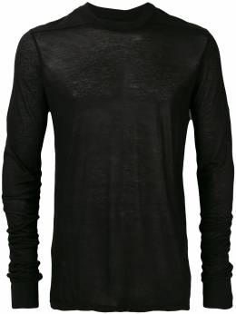 Rick Owens DRKSHDW - long-sleeve fitted sweater 8F3068B9393536500000