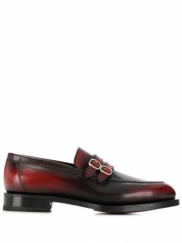 Santoni - buckle detail loafers O96935MD9HNGWR659559