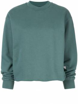 T By Alexander Wang - long-sleeve fitted sweatshirt 09996859559553500000