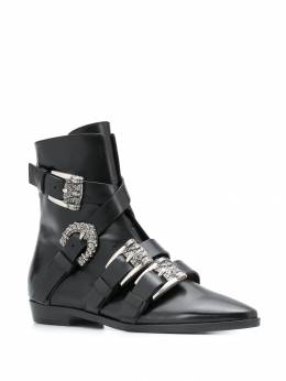 Etro - buckled ankle boots 56356595593699000000