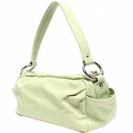 Coach Light Green Leather Everyday Bag 219351